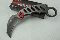 mantis Media Luna bolsillo cuchillo de la garra garras karambit cuchillo de caza de la supervivencia que acampa Cuchillo del regalo de Navidad