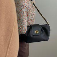 HBP حقيبة الكتف محفظة الرغيف الفرنسي رسول حقيبة حقيبة يد المرأة أكياس مصمم حقيبة جديدة عالية الجودة الملمس الأزياء سلسلة أضعاف غرامة