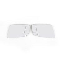 Areyourshop Par pair OE laterales Espejos de vidrio CALENTADO A LA DERECHA IZQUIERDA AJUSTE PARA BMW 5 E60 E61 F01 F02 F04 Piezas de accesorios de automóviles