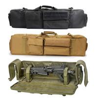 Militär Airsoft Gun Bag Tasche Doppelgewehr Rucksack für M249 M16 M16 M16 AR15 Rifle Bag Jagd Karabinerpistole Tragen Schutztasche 201022