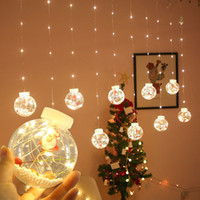 Curtain LED copper wire string lights fairy tale EU Christma...
