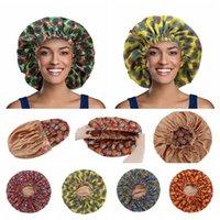 11 Arten Haarpflege Motorhaube Druckkuppel Nightcap Elastic Frontal Head Wrap Frauen Rand Stirnband Taschen Bademappe Ljjp697