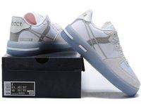 Düşük QS Dördüncü Bir Erkek ayakkabı Beyaz Buz Işık Kemik Sneakers Kadınlar Açık Eğitmenler Yüksek Kalite Kaykay Ayakkabı çalıştıran Tepki