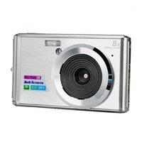 الكاميرات الرقمية C4 هدية مكافحة يهز عيد ميلاد HD كاميرا مصغرة اكتشاف الوجه واضح السفر شاشة lcd coms الاستشعار التكبير رقيقة جدا المحمولة 1