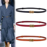 PD002 mulheres estreitas fitas decoração terno cinturões de couro pu para mulheres saia camisola casaco ajustável cinto preto casamento