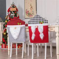 عيد الميلاد غطاء كرسي عيد الميلاد مفرش غطاء الغبار غطاء كرسي زينة عيد الميلاد هدية عيد الميلاد حقائب عيد الميلاد زخرفة بالجملة