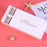 Squisito macaron imballaggio scatola di imballaggio cupcake party snacks cabina torta di San Valentino regalo regalo contenitori di stoccaggio di cibo vendita calda 1 89JM F2