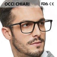 Occi Chiari Hombres Gafas Marco Optical 2019 Hombres Lente Clear Prescripción Anti Blue Light Acetate Eyewear EyeGlasses W-Colopi1