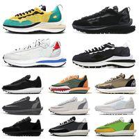 sapatos nike sacai ldv outdoor ldv waffle vaporwaffle amanhecer tênis masculino feminino triplo preto branco Nylon pinho verde tênis masculino tênis esportivo