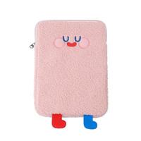 HBPTablet Protect Pouch Bag Case Sleeve Cute Cartoon Plush Laptop Cover Pocket M68C Q0112