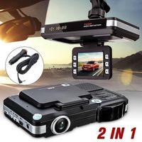 카메라 720p G 센서 자동차 DVR 레코더 카메라 2.0inch LCD 디스플레이 2 in 1 HD 대시 캠 레이저 레이저 속도 감지기 운전 보안