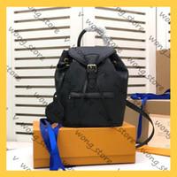 Женщины рюкзаки рюкзаки роскоши дизайнеры сумки 2021 высокое качество школа школьные сумки модные туристические пакеты размером 27,5 * 33,0 * 14,0 см 21010802w