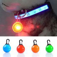 Pet Dog Cat Pendant Collar Lampeggiante Bright Safety Led Pendant Security Collana Night Light Collar Pendan W-00320