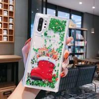 새로운 럭셔리 빛나는 휴대 전화 보호 케이스를 들어 삼성 전자는 S8 note10 플러스 아이폰 크리스마스 무덤 반짝이 휴대 전화 케이스는 최대 XS