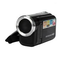 새로운 패션 미니 휴대용 1.5 인치 TFT 16MP 8X 디지털 줌 비디오 캠코더 카메라 DV1
