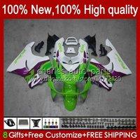 Kit para HONDA CBR 919RR 900RR 900cc verde blanco CBR919 RR CBR900 1998 1999 93HC.79 CBR 900 RR 919 CC 919CC CBR919RR CBR900RR 98 99 carenados
