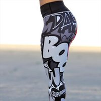 Workout Leggings cintura alta Leggins Push Up Mujer Digital Printing Leggings de Fitness Elastic Vestuário Mulheres Calças