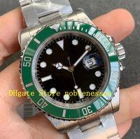 2021 Новая модель 904L CAL.3235 Автоматические часы VS Factory Мужские 41 мм Зеленые керамические 126610 126610LV Blue 126619LB 126619 ETA Men VSF Dive Watch Warstwatches
