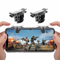 T10S Pubg Controller Jeu GamePad Joystick L1 R1 Touche de déclenchement en métal Free Fire Shooting Gamepad pour téléphone mobile Android