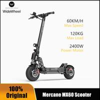 """احدث Mercane MX60 الذكية سكوتر الكهربائية 2400W 60KM / ساعة 100KM foldabe Kickscooter المدى 11 """"صور المزدوج الفرامل طويل المجلس سكيت"""