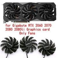 Original pour GigaByte RTX 2060 2070 2080 2080TI Graphiques Ventilateur de refroidissement de carte vidéo PLA09215S12H Diamètre 85mm Pitch 42mm1
