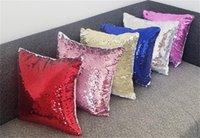 Single Sealless Seaglies Pillow Case Multi Colors Sublimazione Blanks Blanks Transfer di calore Stampa Magic Cuscino Cuscini Cover Vendita calda 9 9hh L2