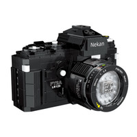 Creator Street Photography enthusiasts Photography Digital camera Building Blocks Toys 627 pcs Bricks