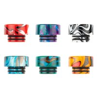 Serial K 810 Wide Bore Drip Tip Epoxy Resin Vape Mouthpiece For 810 Thread TFV8 Big Baby TFV12 Prince Electronic Cigarette Tank
