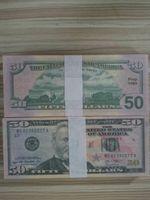2021 Heiße Fälschung 20 Dollar Fake Geld Banknoten Prop Geld Papier Spielzeug Banknote Bar Atmosphäre Bühnengeburtstagsfeier Movie Requisiten