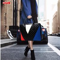Luxury fashion genuine leather Women handbags 14 inch laptop briefcases female shoulder messenger bag business crossbody bags Q0112