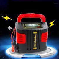자동차 점프 StarterPower 인버터 휴대용 지능형 충전기 자동 자동차 350W 14A 조정 LCD 배터리 스타터 1