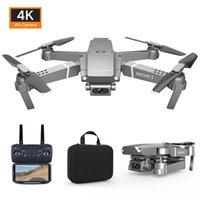 HIPAC 2020 E68 PRO Mini Drohne HD 4K 1080P Wifi FPV-Kamera-Drohnen-Höhen-Hold-Modus RC-faltbarer Quadcopter Dron Boy Spielzeuggeschenk E58