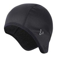 Восхождение на открытом воздухе под шлем, бегущая головка защита от велосипедной крышки с очками отверстия мода мягкая ежедневная зимняя термическая
