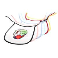 التسامي فارغة لجام الطفل مريلة الطفل مريحة وميسرة منشفة اللعاب ألياف البوليستر متعدد الألوان التجشؤ القماش 3 5ex H2