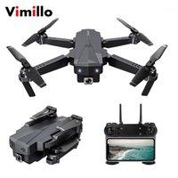 VIMILLO SG107 بدون طيار 4K HD الهوائي البصرية تدفق الطائرة التحكم عن طائرة تحلق عبر مصغرة درون كاميرا رباعية كاميرا اللعب VS E581