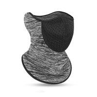 Casquettes de cyclisme masque la couverture au col chaud couvre-vent coupe-tête pour hommes femmes