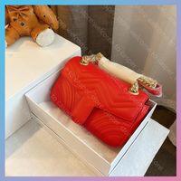 7 colores 24 cm bolsas para mujer lujos diseñadores Pack Lady Princess Diana Saddle Bag Bolso de moda Bolsas de asas de la mochila 2021