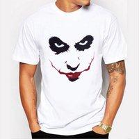 Esboçar o palhaço Impresso 3D Camiseta Homens Joker Rosto Casual O pescoço masculino tshirt Palhaço Manga Curta piada engraçada t camisas puls XXL