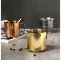 14 أوقية كأس النبيذ الزجاج مع مقبض كريستال أغطية واضحة 400 ملليلتر الفولاذ المقاوم للصدأ مزدوجة الجدار فراغ معزول الأوكس البيرة أكواب القهوة أكواب الشاي