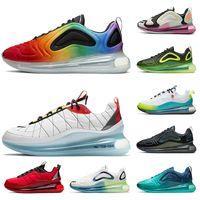 Nike Air Max 720 Nouveaux chaussures de mode Be vrai tennis pour femmes formateurs Hommes Sea Forest xygène Violet ROSE Classsic Marque Balck triplets sneaker sport blanc cassé