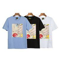 Drew House designers men t shirts Abbigliamento di alta qualità Abbigliamento da uomo Stampa mens designer t shirts