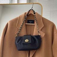 HBP الكتف حقيبة محفظة الرغيف الفرنسي رسول حقيبة يد المرأة أكياس حقيبة جديد مصمم حقيبة عالية الجودة الملمس الأزياء سلسلة طيات سيدة