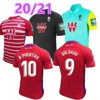2020 2020 2021 جديد غرناطة الرجال لكرة القدم جيرسي 20 21 غرناطة CF رجل كرة القدم قمصان Soldado Soccer Jerseys Camiseta de Fútbol Maillot De Foot
