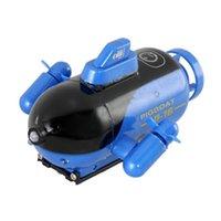 4CH Radio Remote Control Sottomarino Mini Model Boat Potente RC Acqua Toy Toy Impermeabile Protezione Qualità Surfboard Marino Barca a vela