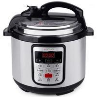 Arroz Fogões 5L Multifuncional Programável Pressão Cozinha Lenta Potenciômetro Não-Stick 900 W Aço Inoxidável Elétrico 220V1