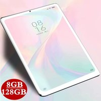 Tablet PC 2021 8 GB RAM + 128 GB ROM 10.1 pollici Android 9.0 Octa Core 3G 4G LTE WiFi IPS Dual SIM Cards Compresse GPS