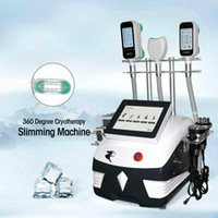 7 IN 1 Cryolipolysis mit 3 Cryo Griffe + 40k + RF + Facial RF + 6 Pads Lase Cavitation 360 Grad Double Chin Fat Freeze-Schlankheits-Maschine