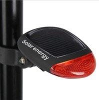 Bike Taillight Solar Powered Bicycle Back Lights 3 Modes Waterproof LED Bike Rear Light Cycling Safety Flashing Warning Light