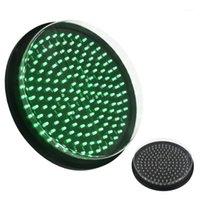 ضوء المرور IP65 300MM أحمر أصفر أخضر مصباح مصباح LED مع عدسة واضحة 1