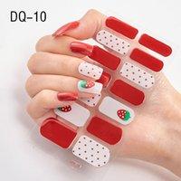 14 Conseils / Feuille à ongles Wraps pleine couverture Nails art autocollant Décorations manucure Vinyls Adhesive Nails Décorations
